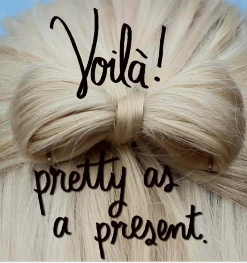 Pretty as a present: the video!