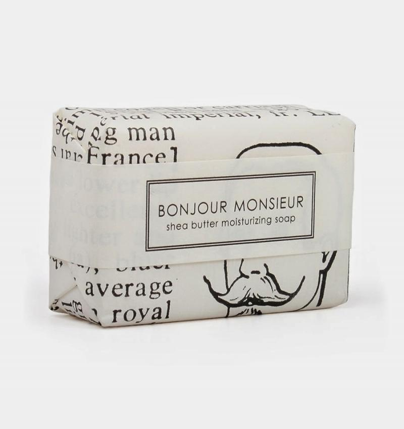 What We Love Today: Bonjour Monsieur Soap.