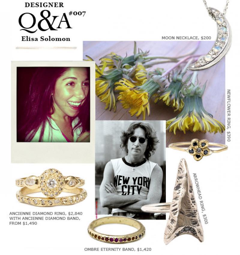 Designer Q&A: Elisa Solomon