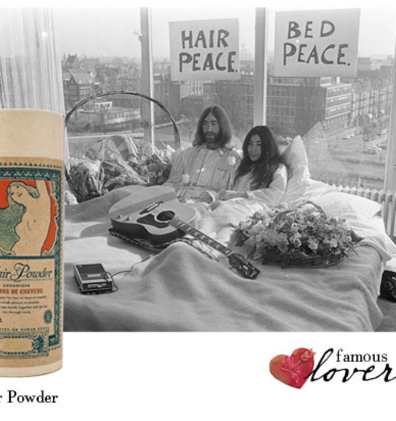 Famous Lovers: John and Yoko.