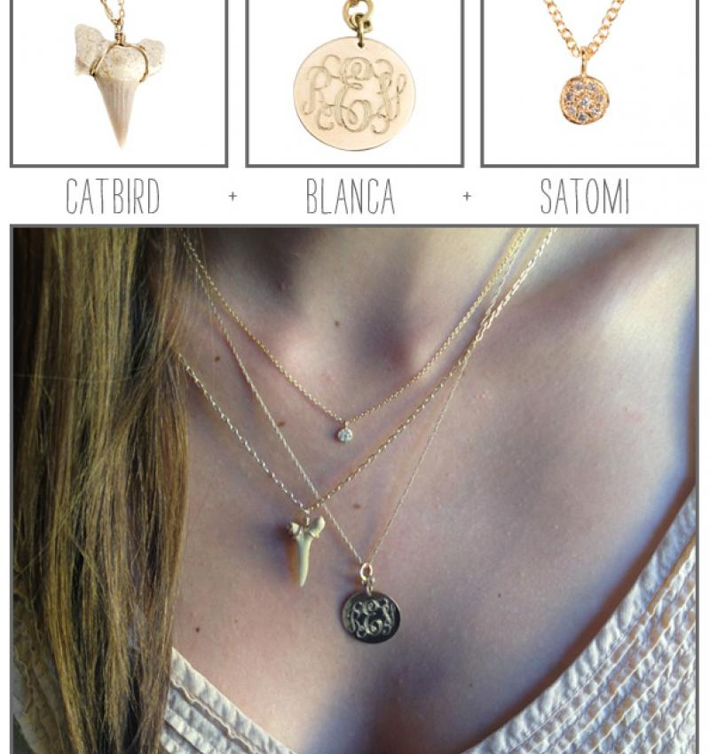 How We Wear It: Necklaces