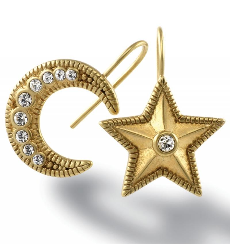 What We Love Today: Moon & Star Earrings