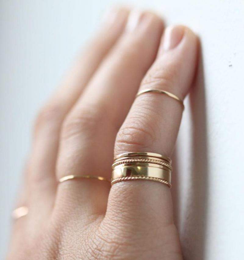 A Note on Pinky Rings