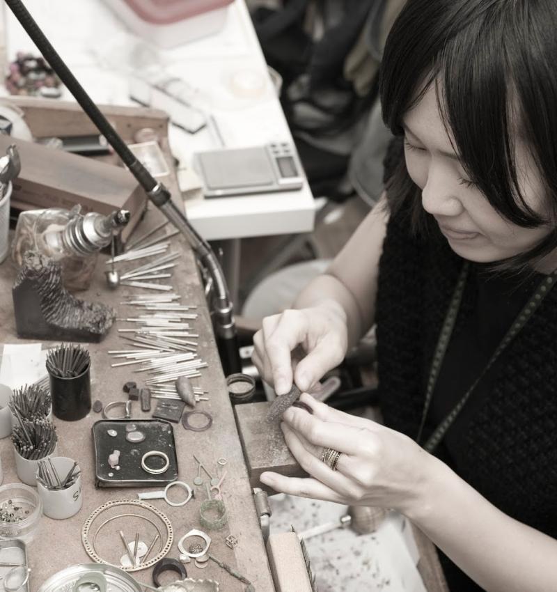 In the Studio with Satomi Kawakita