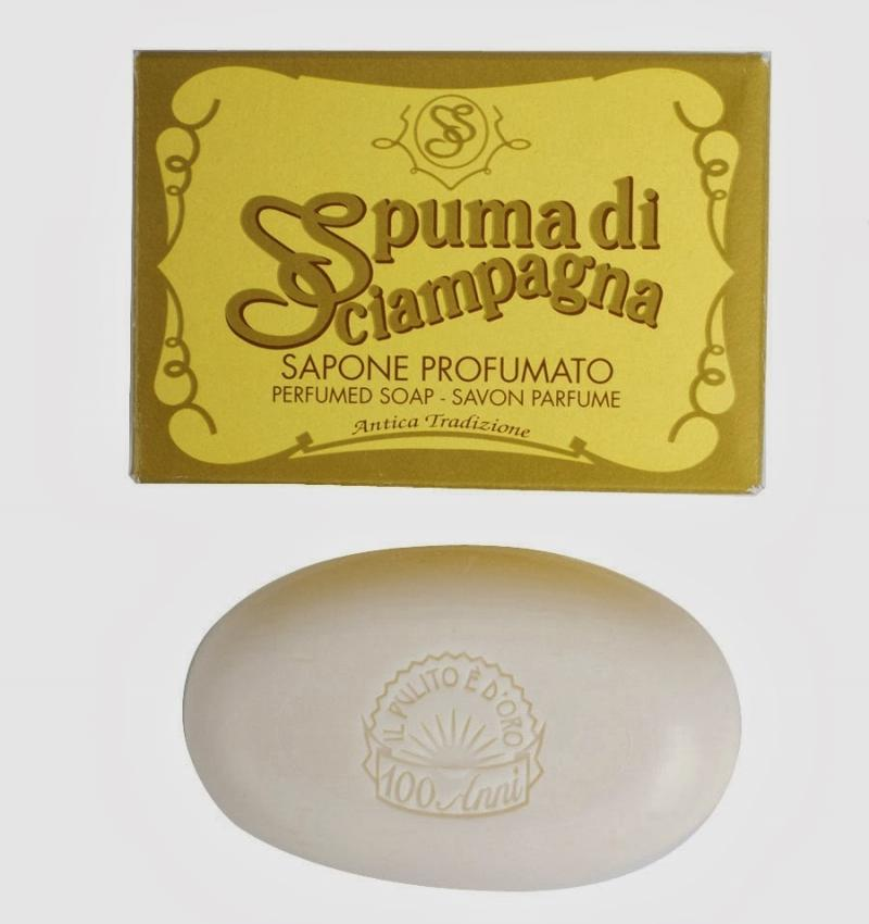 What we Love Today: Spuma di Sciampagna Soap