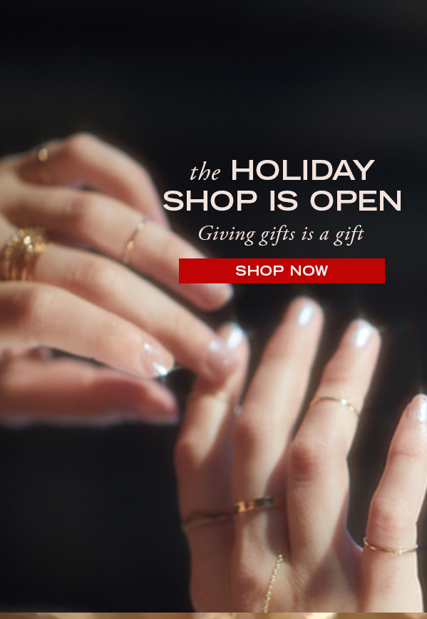 Giving gifts is a gift - shop the gift guides