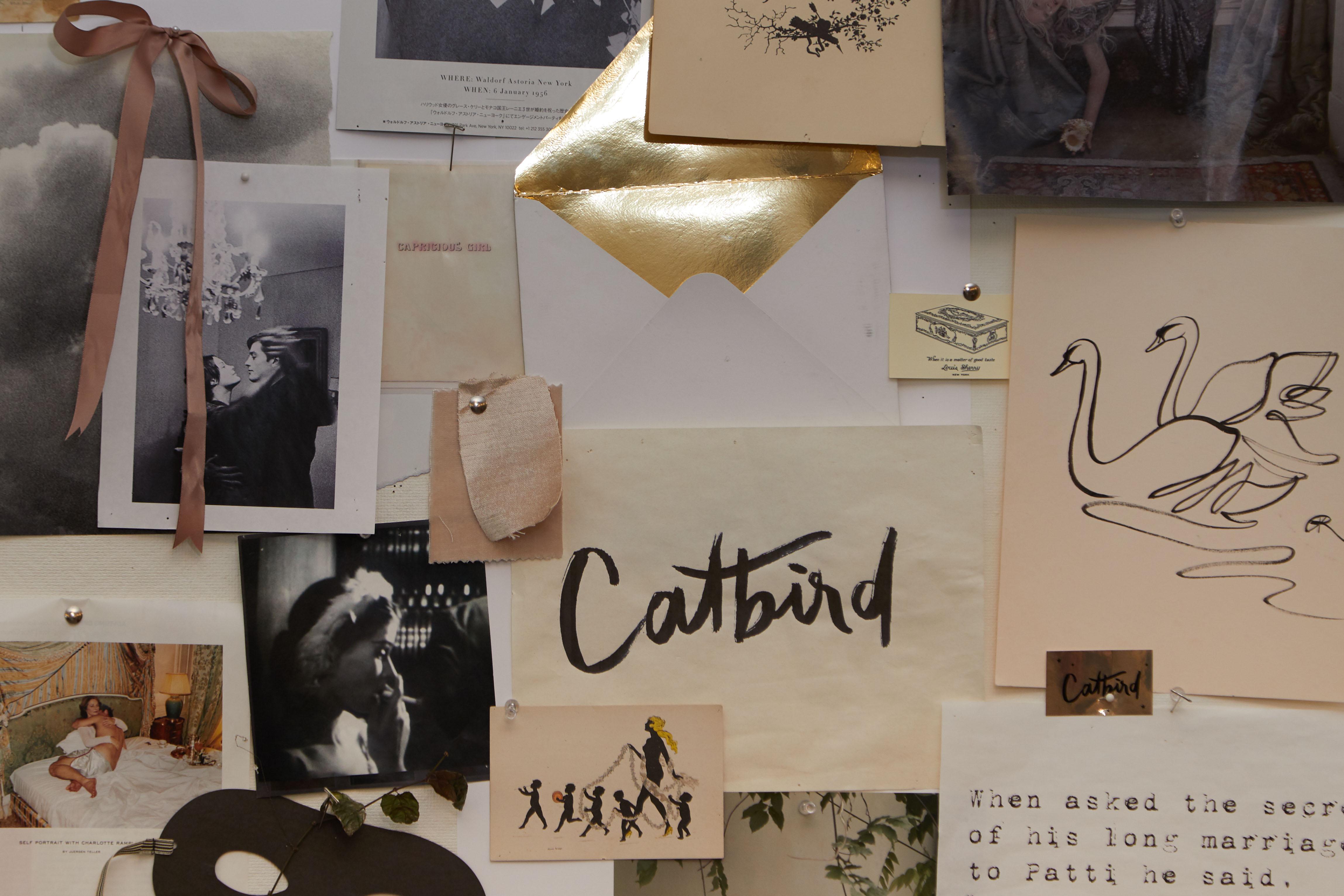 Catbird Moodboard